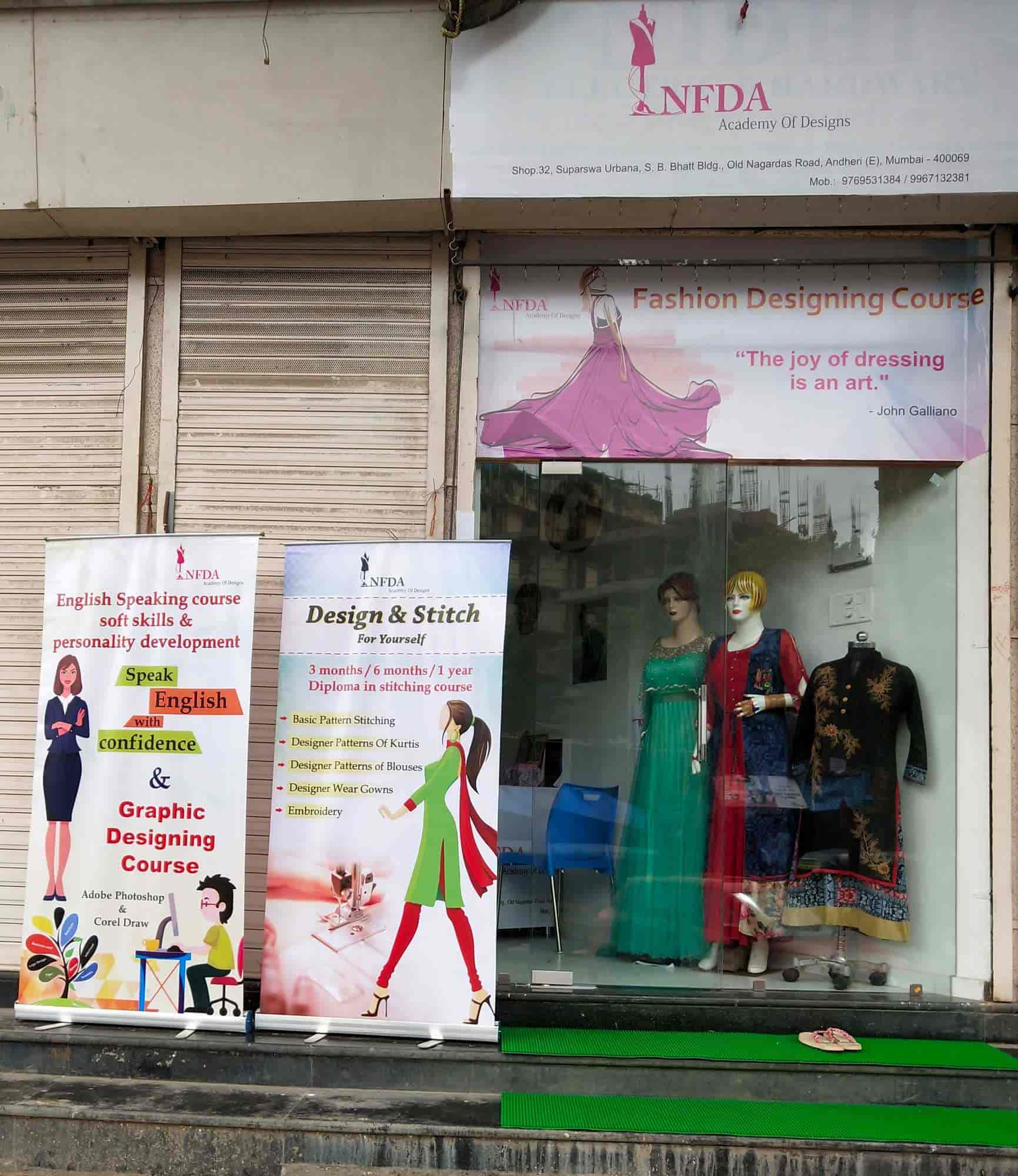 Nfda Fashion Designing Academy Andheri East Fashion Designing Institutes In Mumbai Justdial