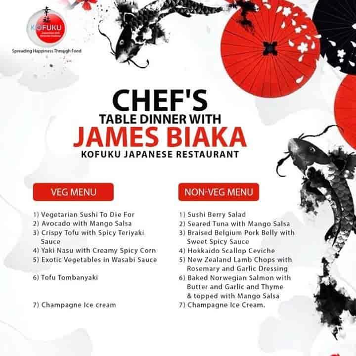 Kofuku Japanese Restaurant Reviews, Bandra West, Jamshedpur - 11029