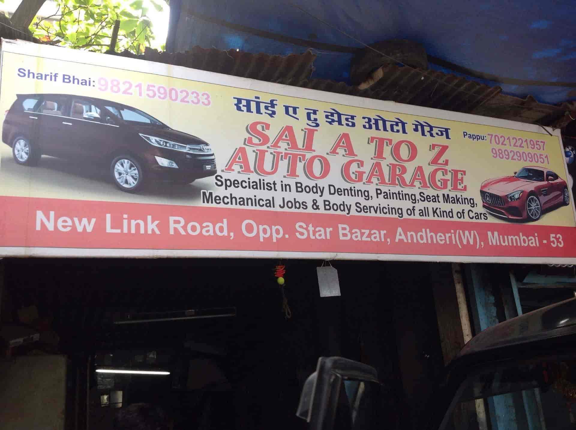 A To Z Auto >> Sai A To Z Auto Garage Andheri West Garages In Mumbai