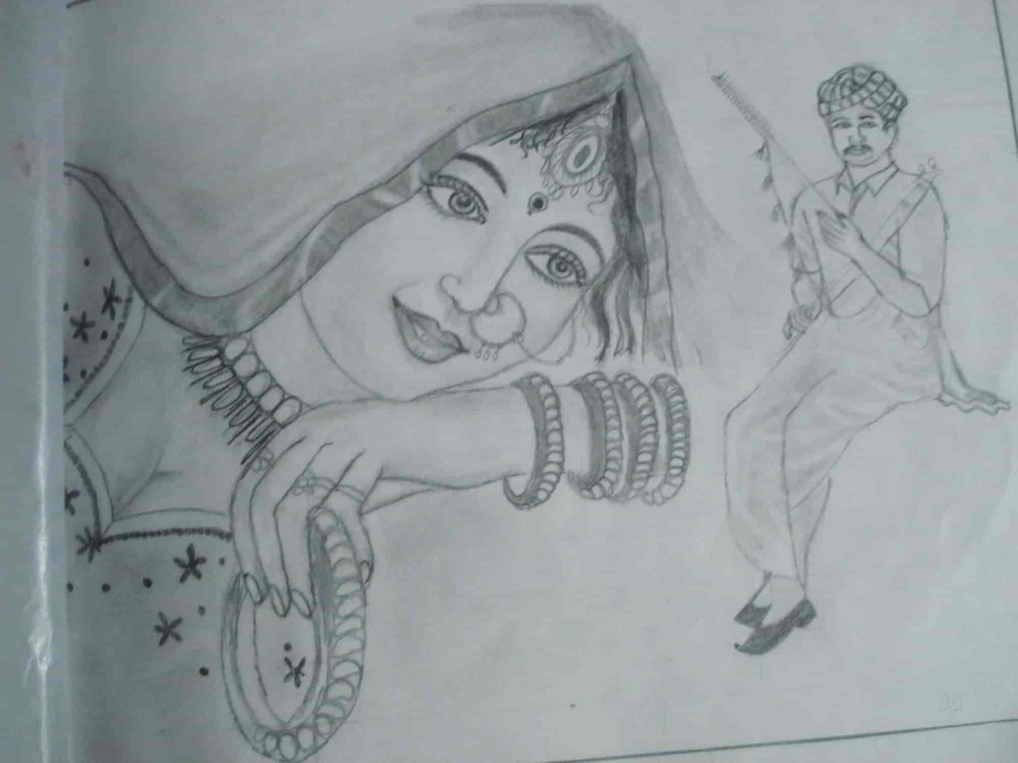 Pencil sketching classes sketch painting classes for children photos mumbai painting classes