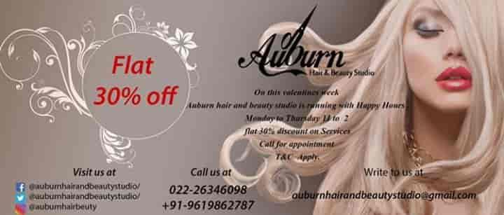 Auburn Hair Beauty Studio Photos, Andheri West, Mumbai- Pictures
