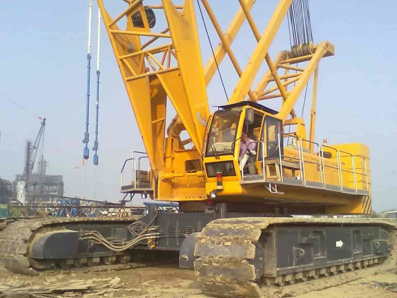 G R Infrastructure Pvt Ltd, Worli - Cranes On Hire in Mumbai