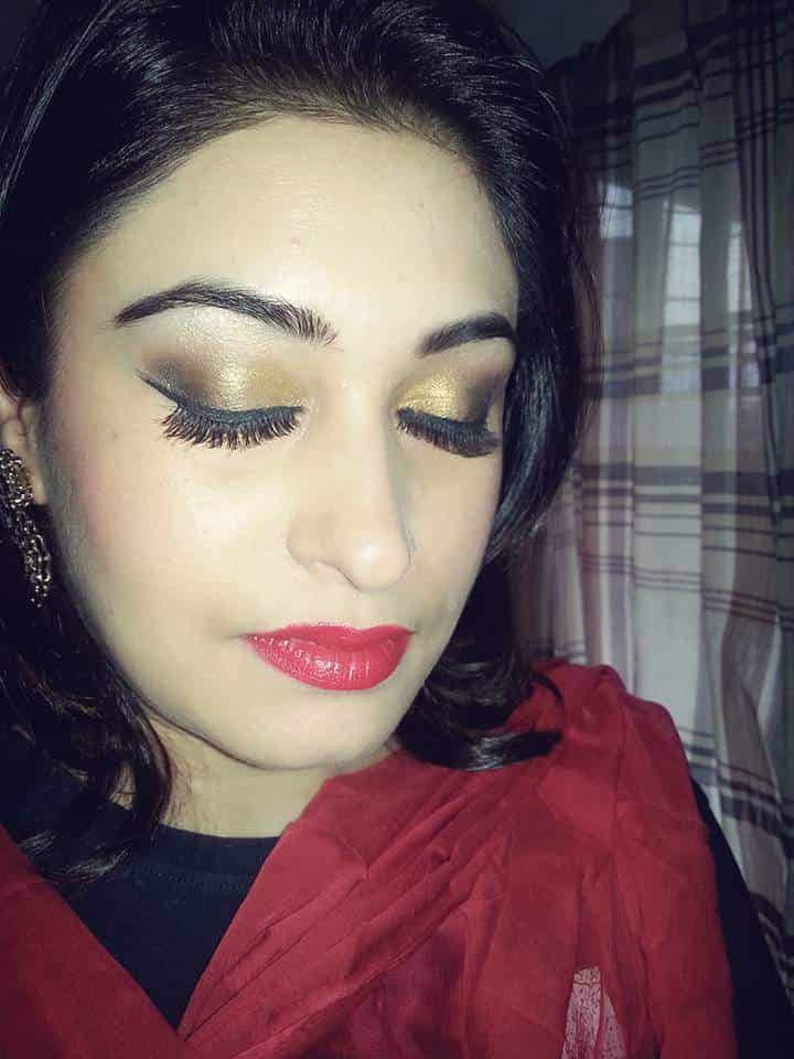 ... Traditional makeup - Anupama S Kavi Photos, Andheri West, Mumbai - Makeup Artists ...