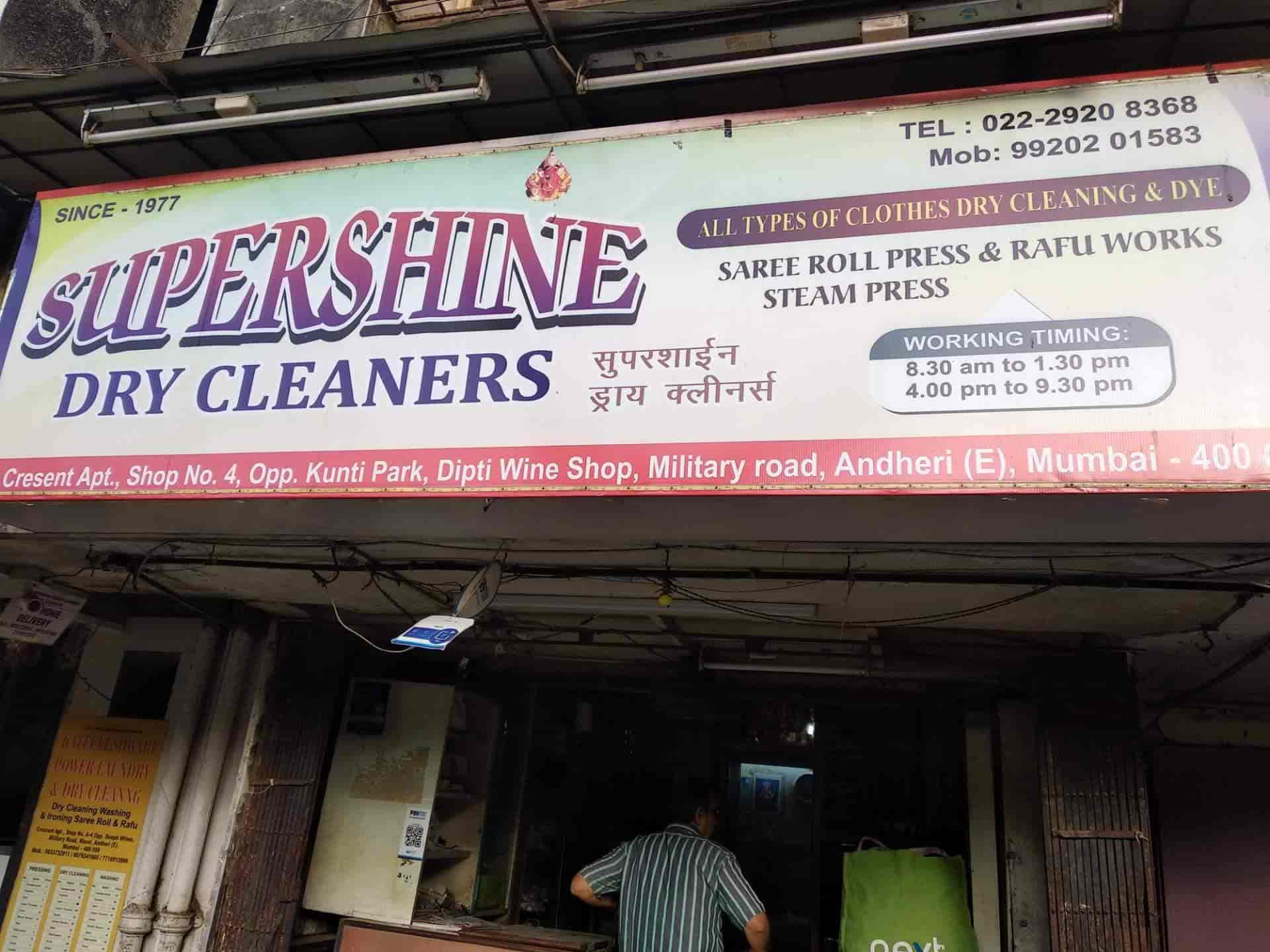 Supershine Dry Cleaners, Andheri East - Dry Cleaners in