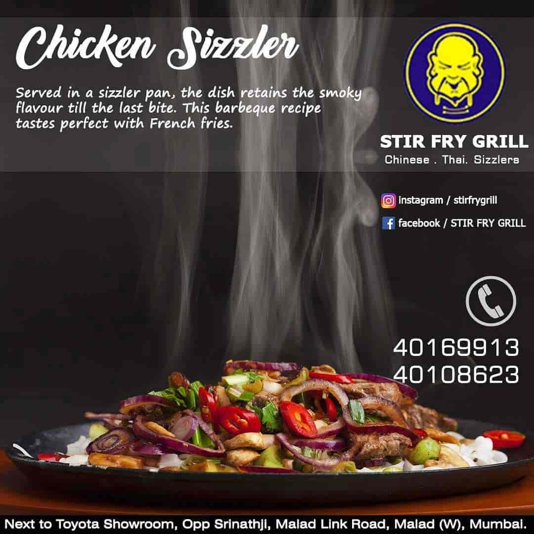 Stir Fry Grill Malad West Mumbai Chinese Cuisine Restaurant Justdial