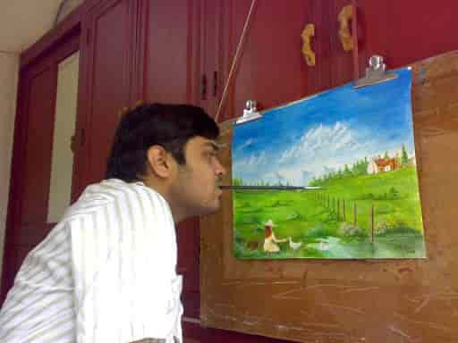 Indian Mouth And Foot Painting Artists Andheri East Newspaper Publishers In Mumbai Justdial