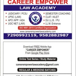 Career Empower Law Academy, Gtb Nagar - PCS J Institutes in