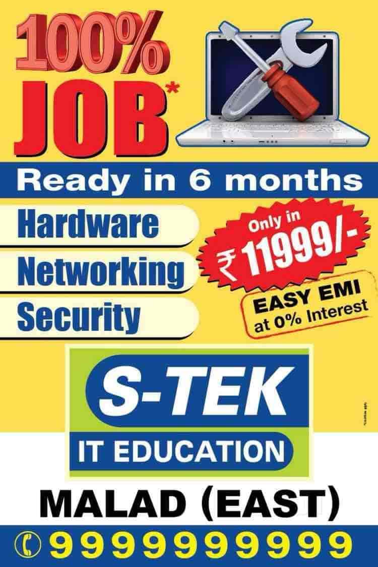 S-Tek IT Education, Borivali West - Computer Training