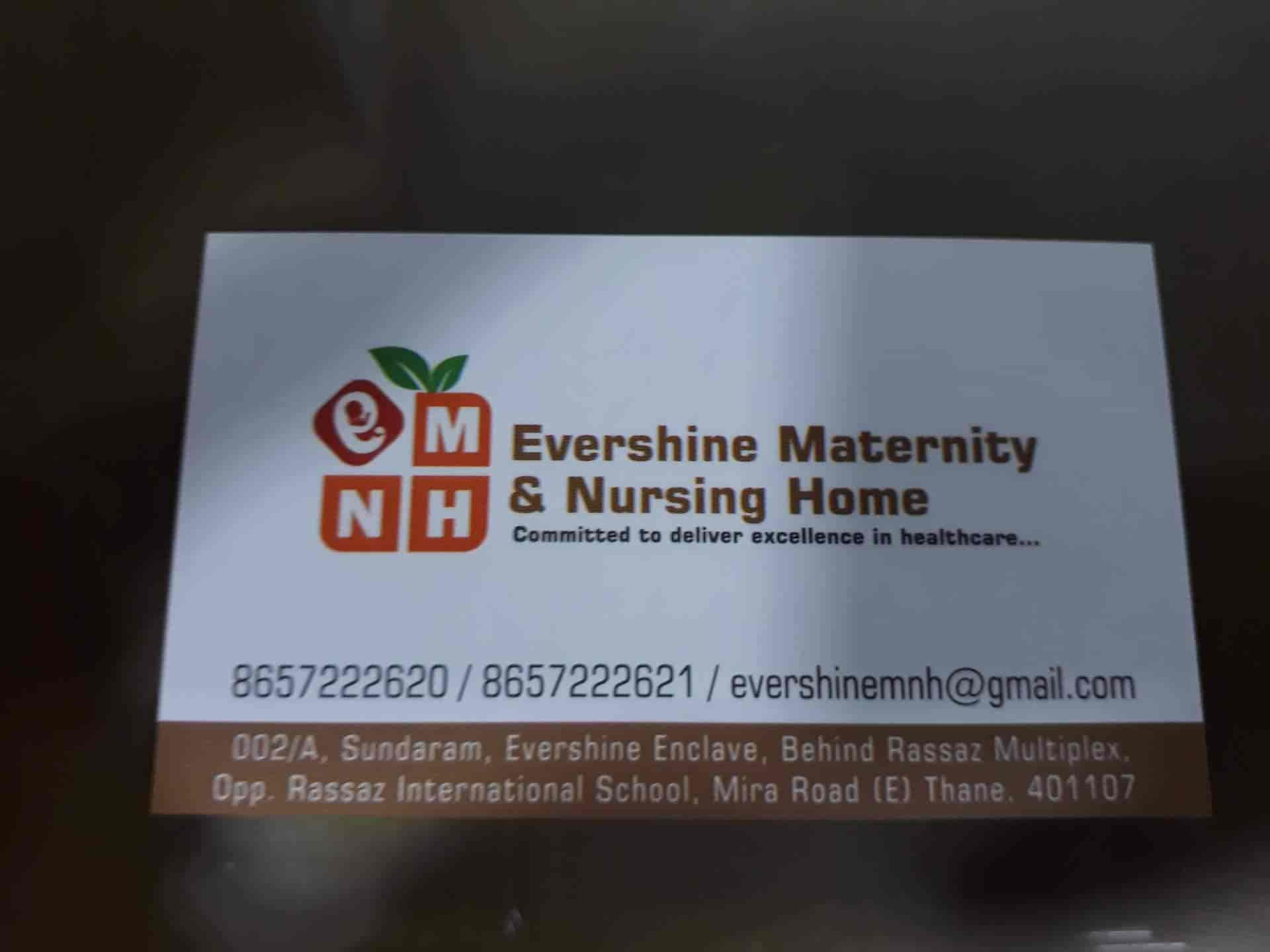 Evershine Maternity & Nursing Home, Mira Road - Hospitals in