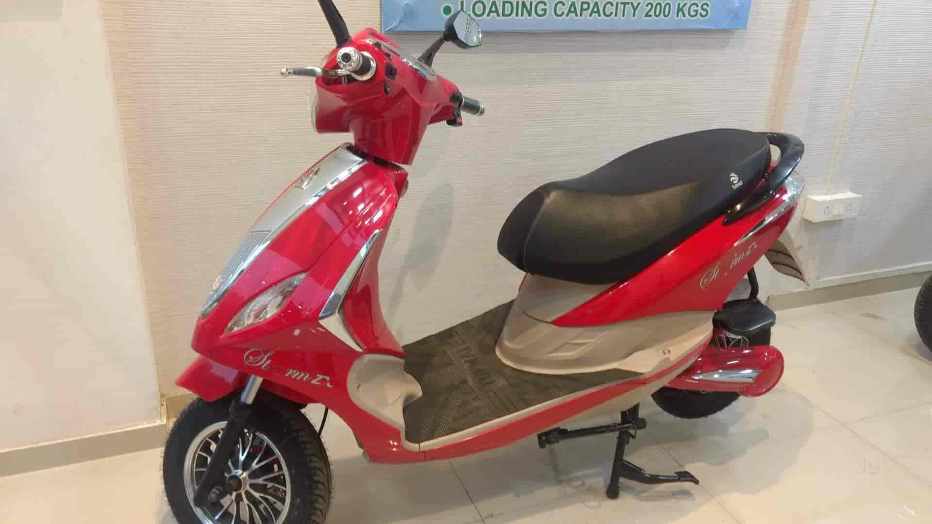 Smart Drive Motors Evehicle Kavesar Battery Operated Scooter Dealers E Bike In Mumbai Justdial