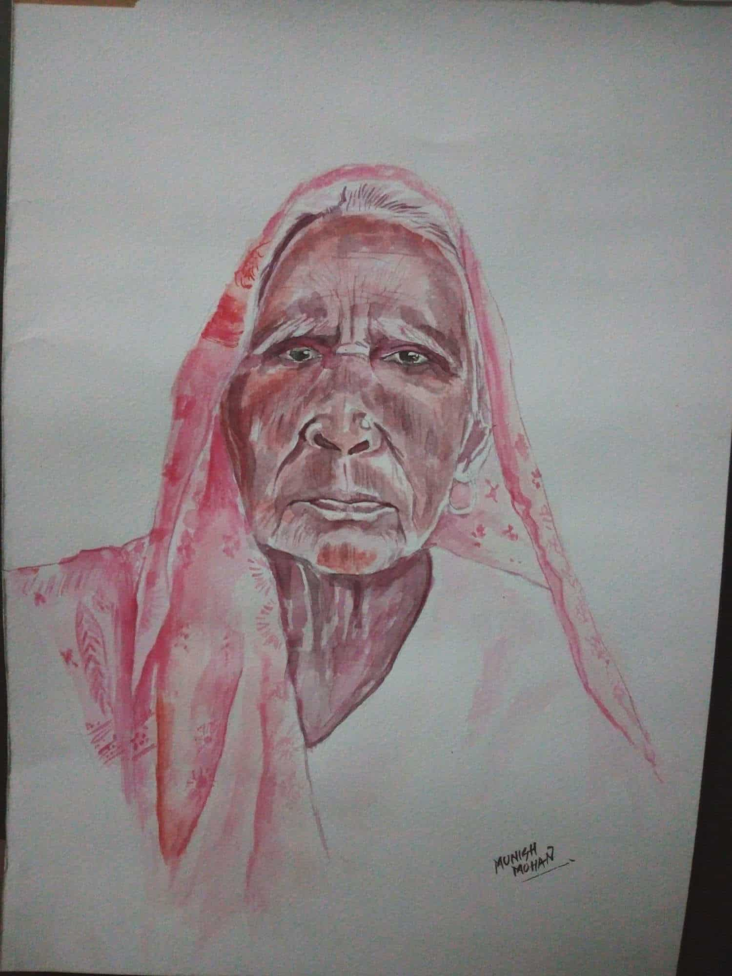 Painting munish mohan photos goregaon west mumbai sketch artists