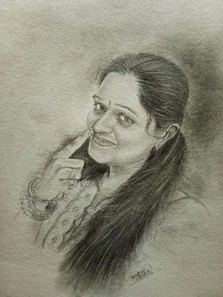Munish mohan photos goregaon west mumbai sketch artists · painting