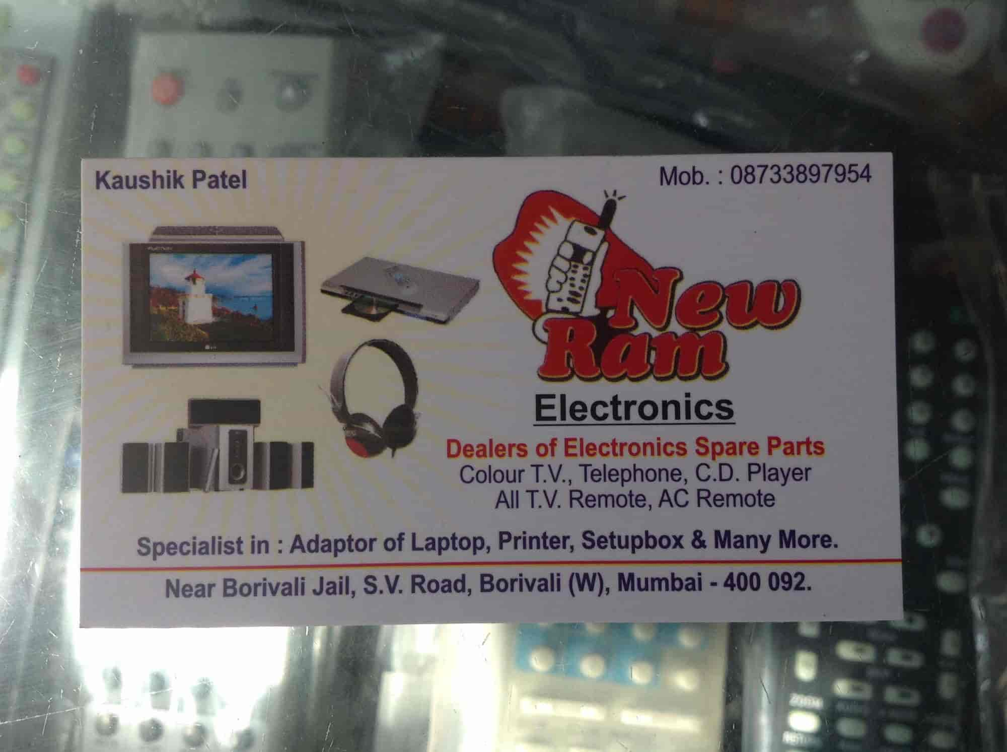 New Ram Electronics Borivali West Cable Wire Dealers In Mumbai Justdial