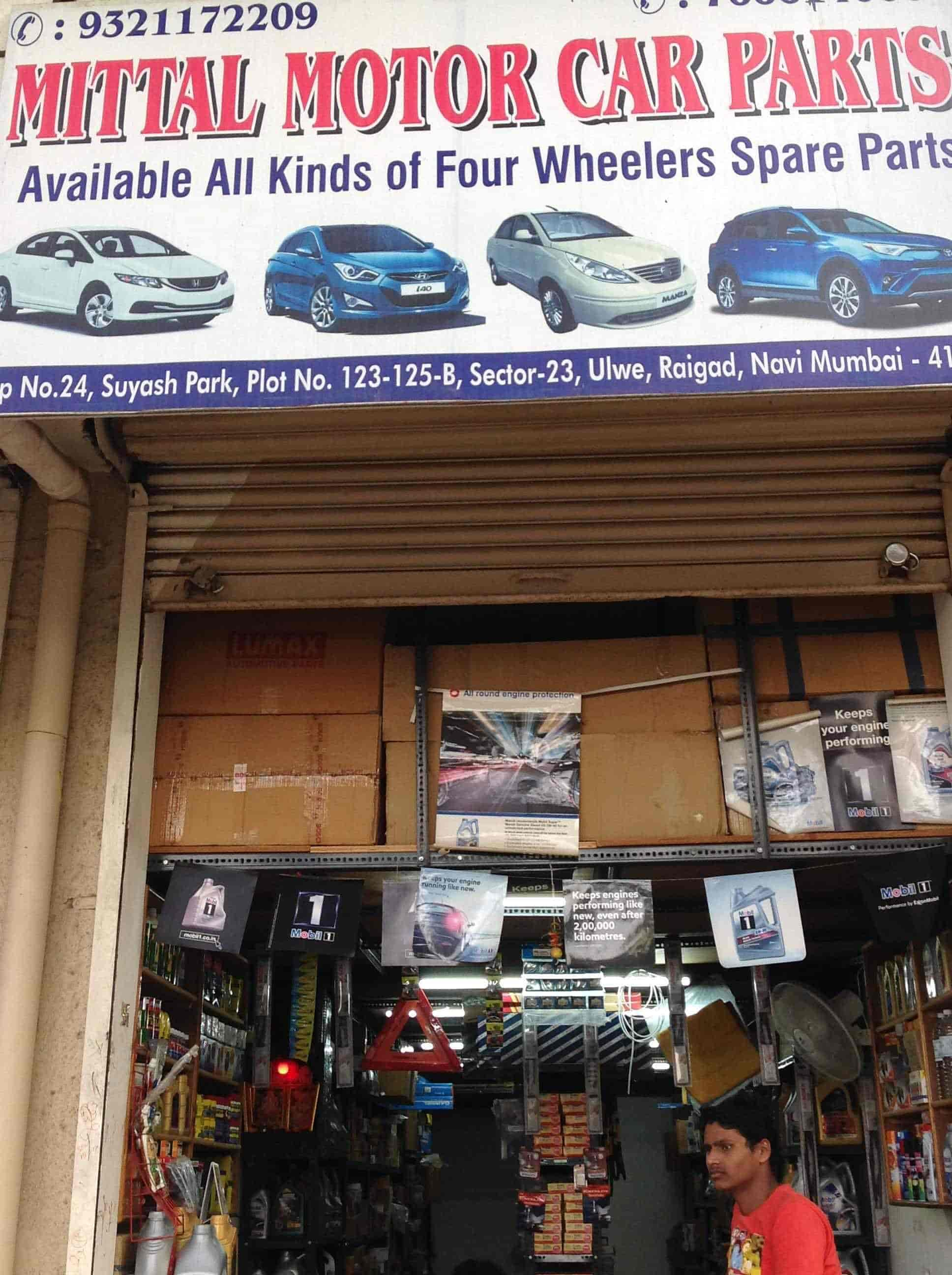 Mittal Motor Car Parts Ulwe Four Wheeler Spare Part Dealers In