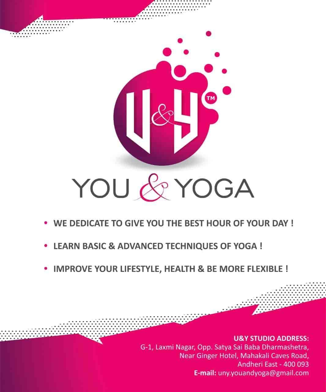 U & Y You and Yoga, Mahakali-andheri East - Yoga Classes in