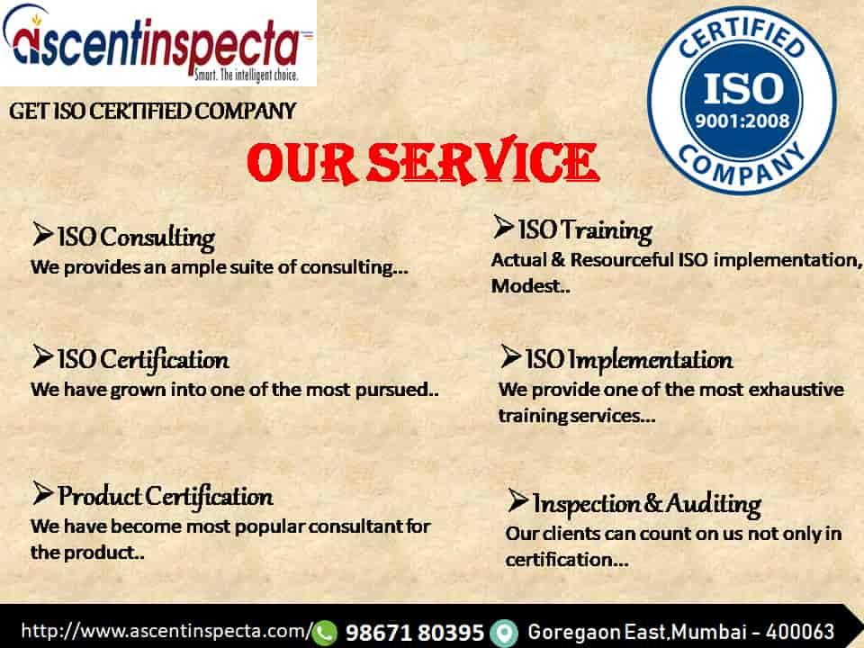 Ascent Inspecta, Goregaon East - Trademark Registration