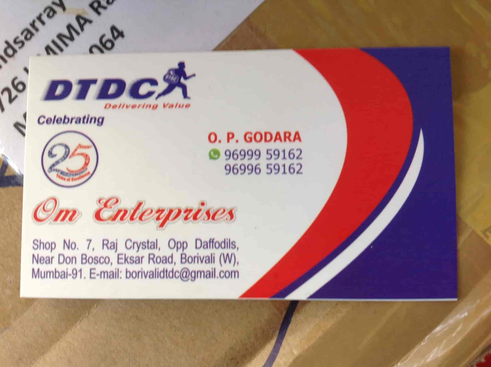 DTDC Courier Services Om Enterprises Photos, Borivali West