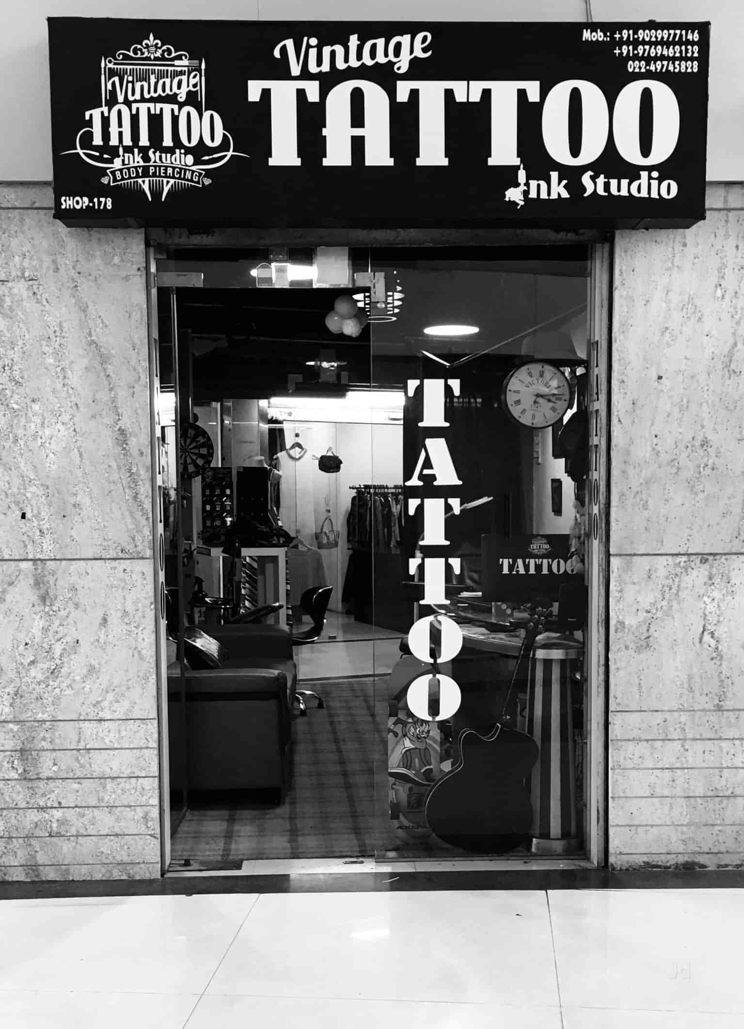 d7d4a97be Vintage Tattoo Ink Studio Photos, Vashi, Mumbai- Pictures & Images ...