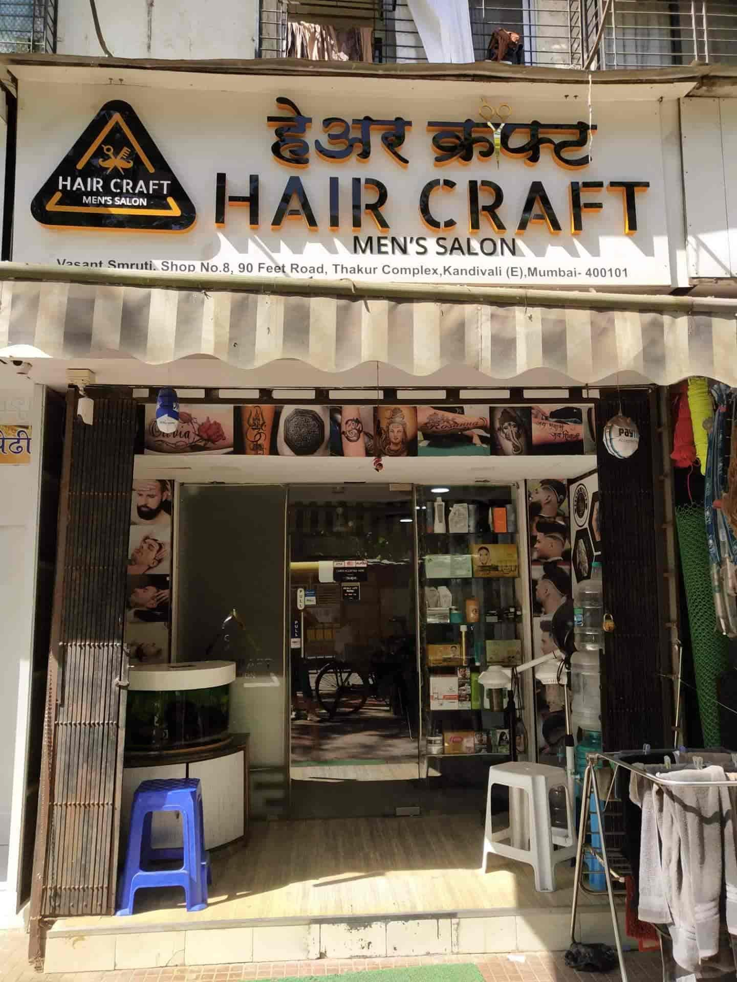 Hair Craft Kandivali East Salons In Mumbai Justdial