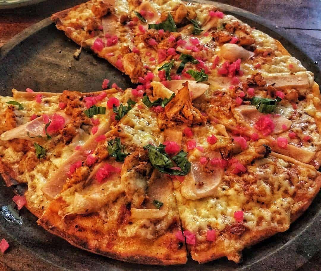 Kết quả hình ảnh cho The Little Door pizza