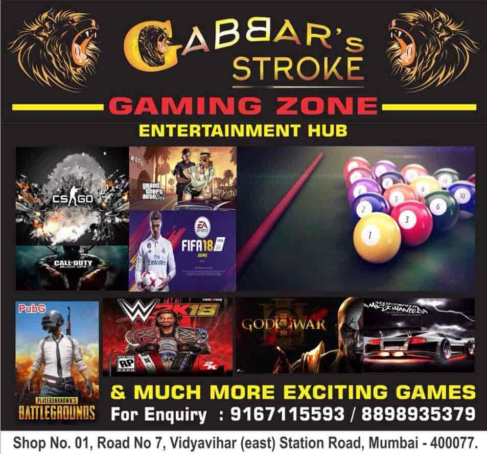Gabars Stroke, Vidya Vihar East - Entertainment Centres in