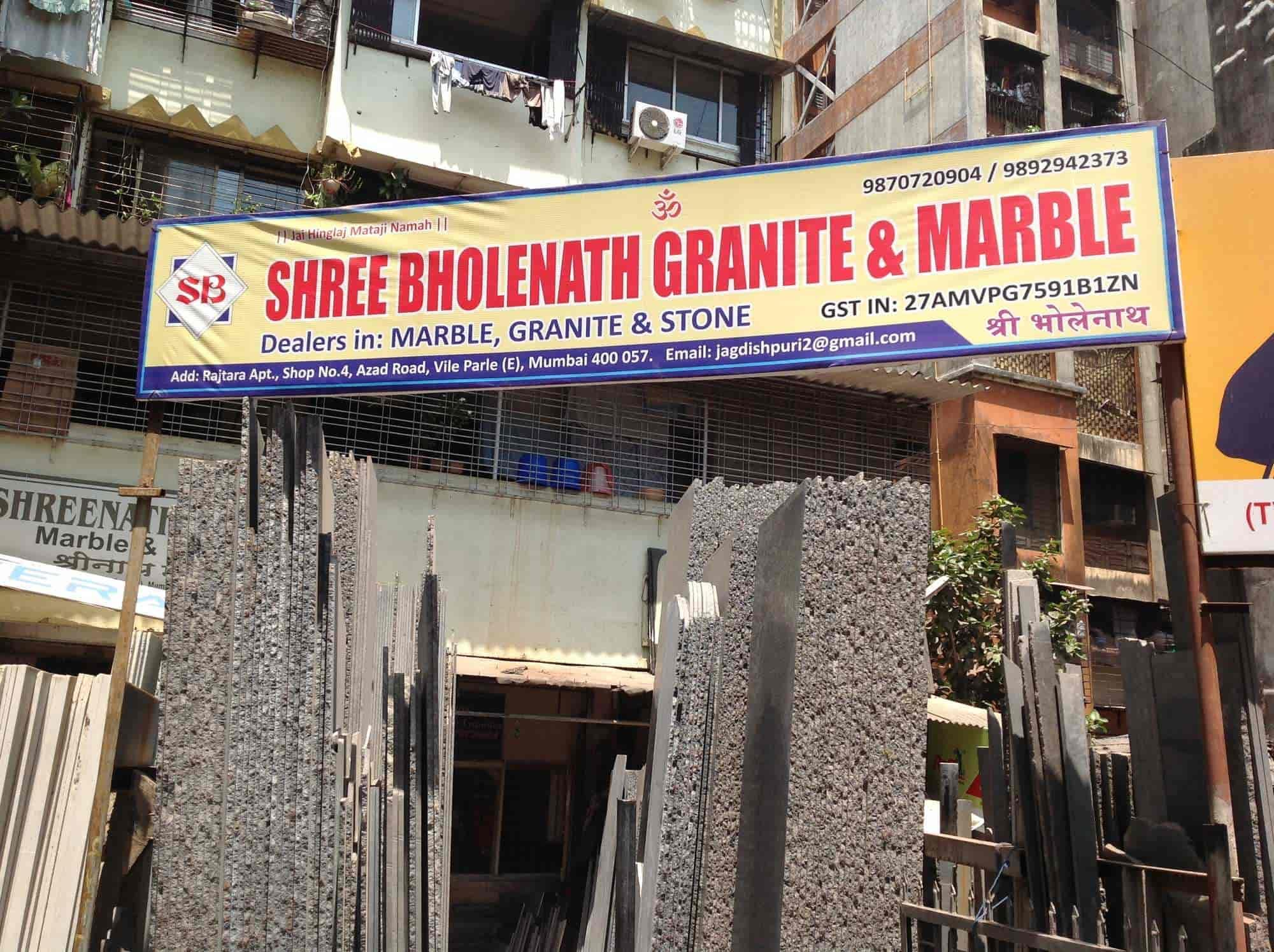 Shree Bholenath Granite & Marble, Vile Parle East - Marble Dealers