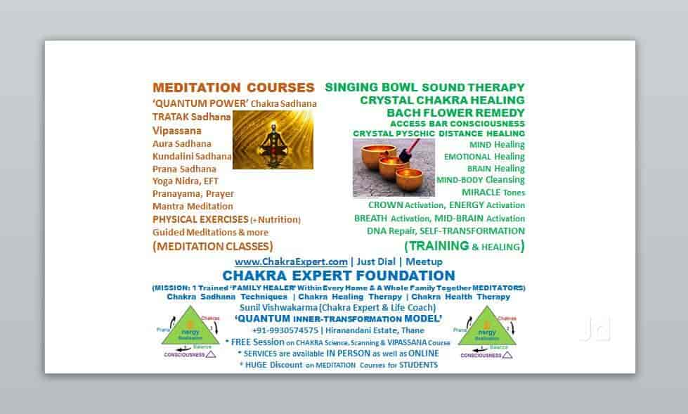 Chakra Expert Foundation - Psychiatrists - Book Appointment