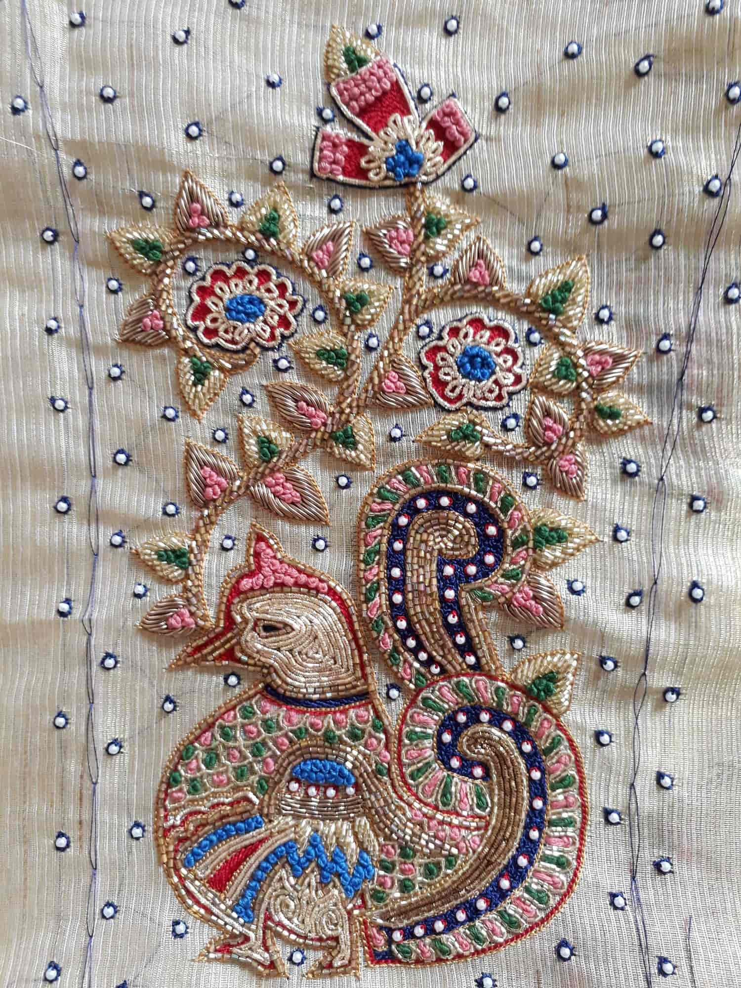 Asr hand embroidery govandi west hand work embroidery job works