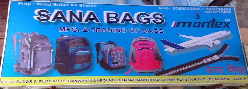 d40d2aa486cf Sana Bags, Dharavi - Bag Manufacturers in Mumbai - Justdial