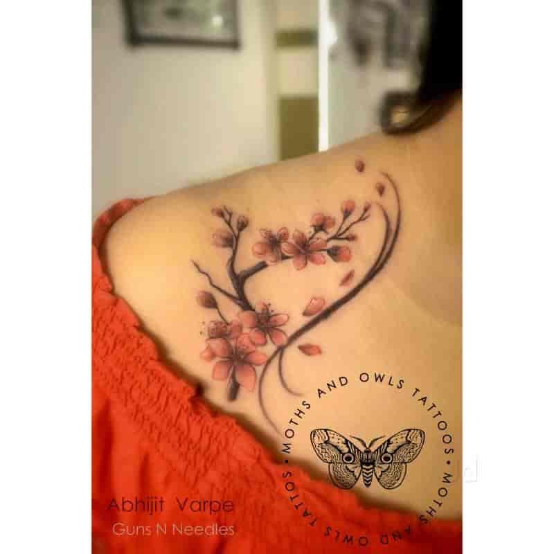 Moths And Owls Tattoos Photos Borivali West Mumbai Pictures