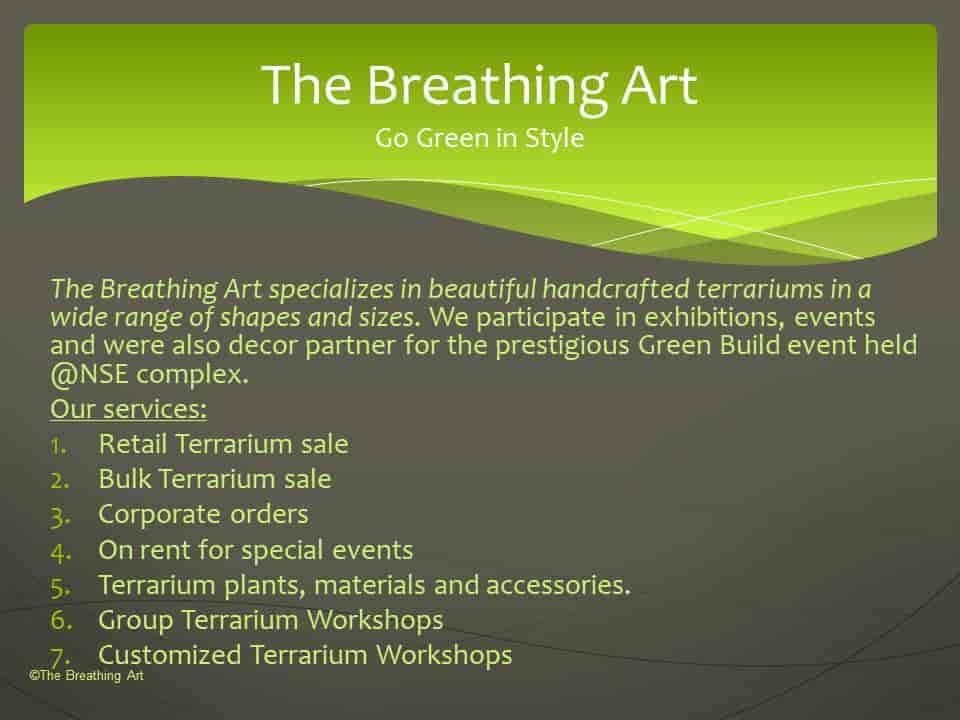 The Breathing Art Terrariums Mumbai Kandivali East Plant