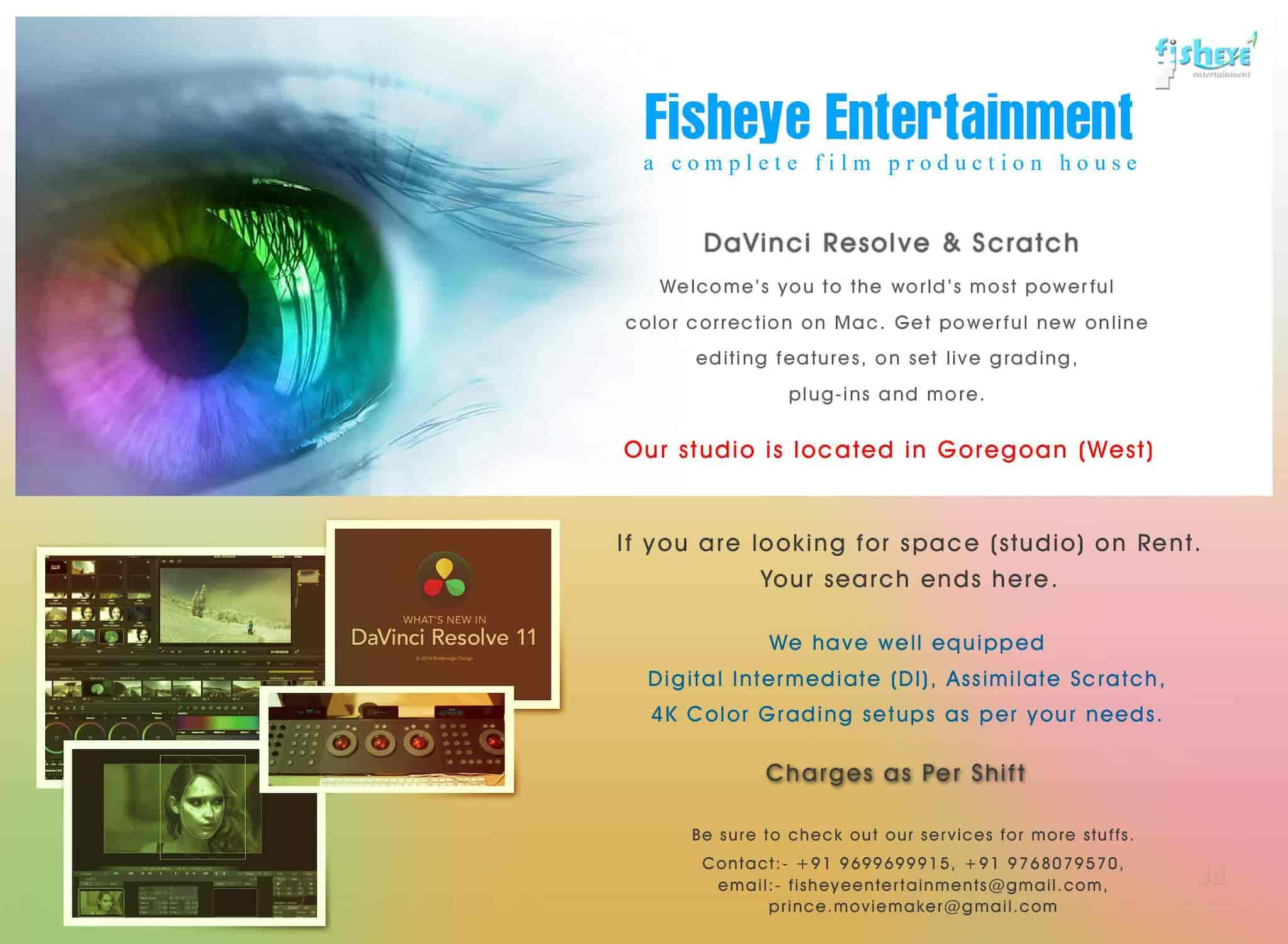 Fisheye Entertainment Reviews, Jogeshwari West, Navi-Mumbai