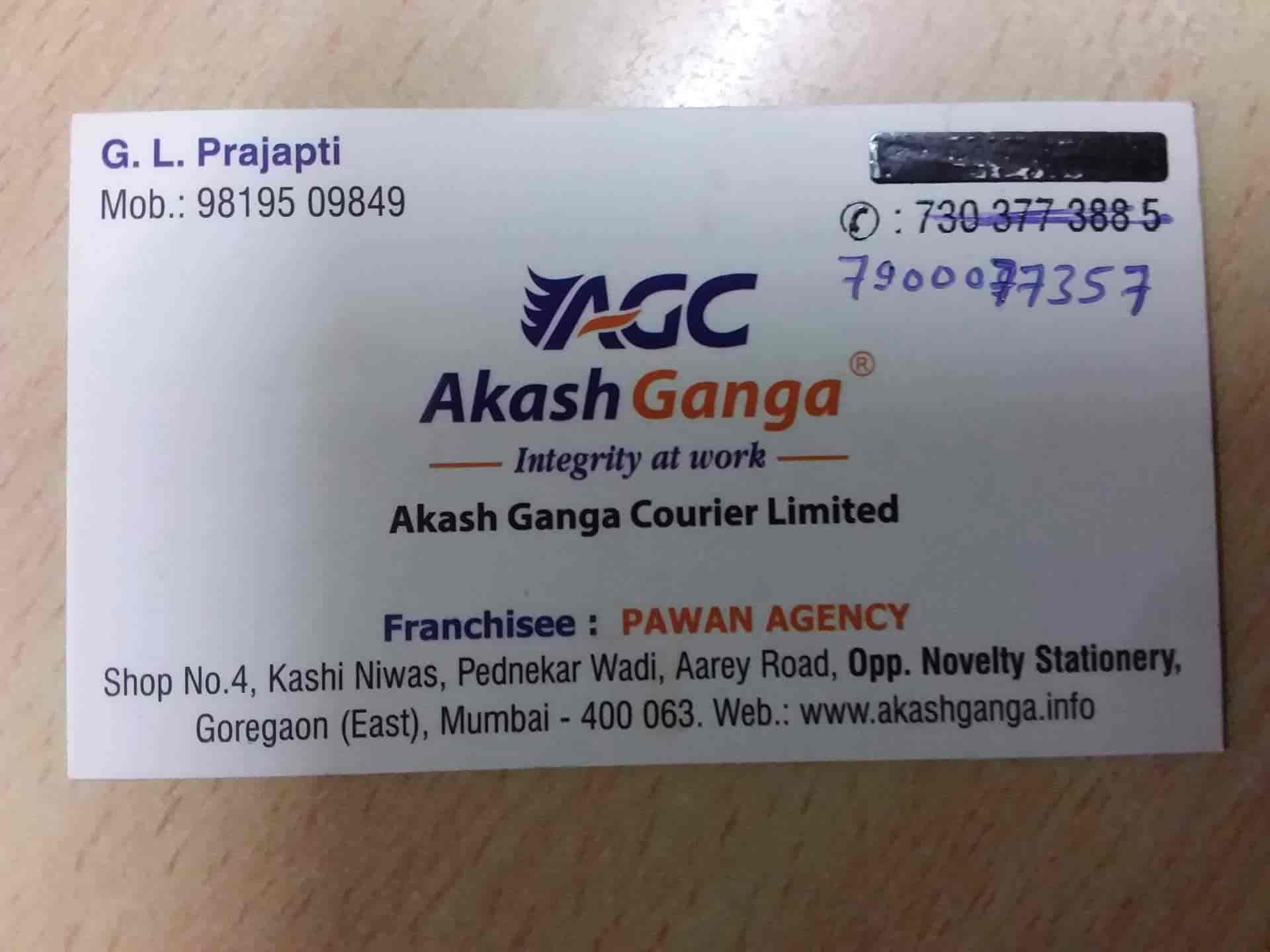 Akash Ganga Courier Ltd, Goregaon East - Domestic Courier