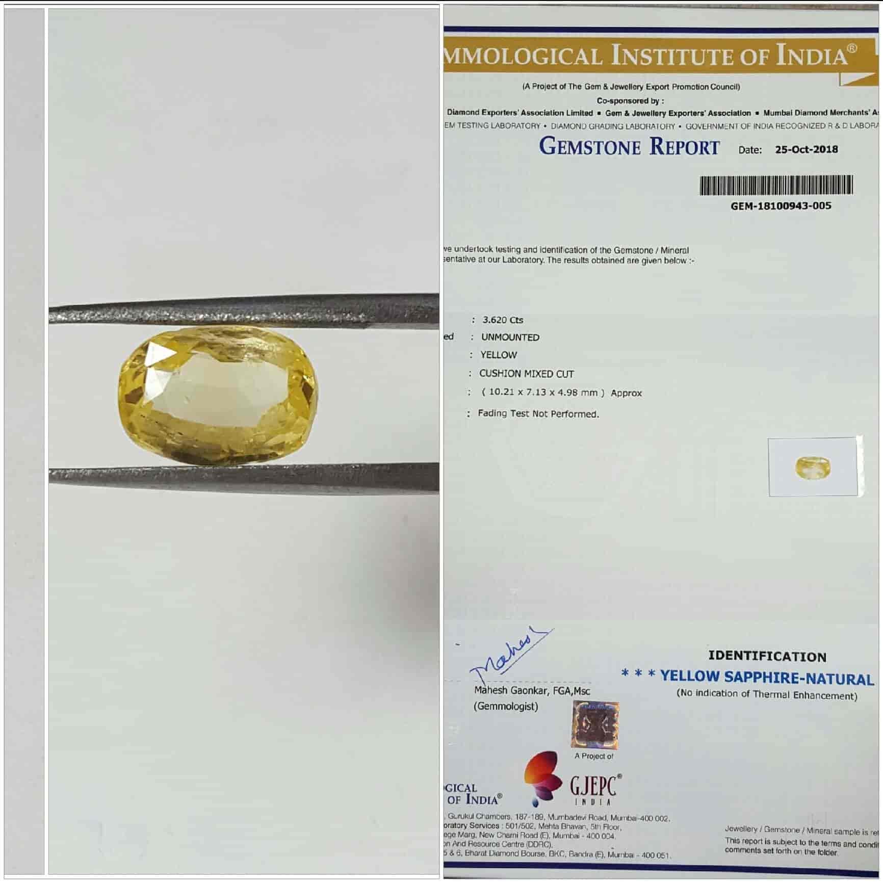 Ultra Gems Lab, Kalbadevi - Gem Dealers in Mumbai - Justdial