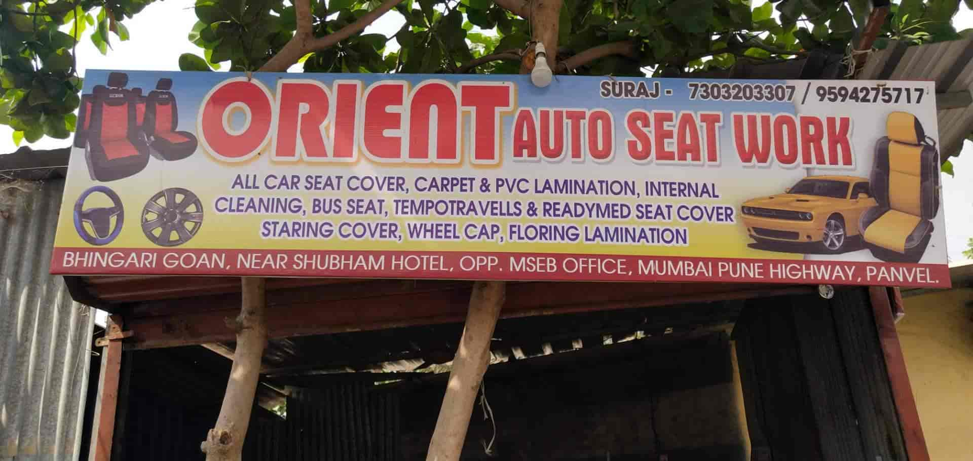 Orient Auto Seat Work Panvel Car Seat Cover Dealers In Navi
