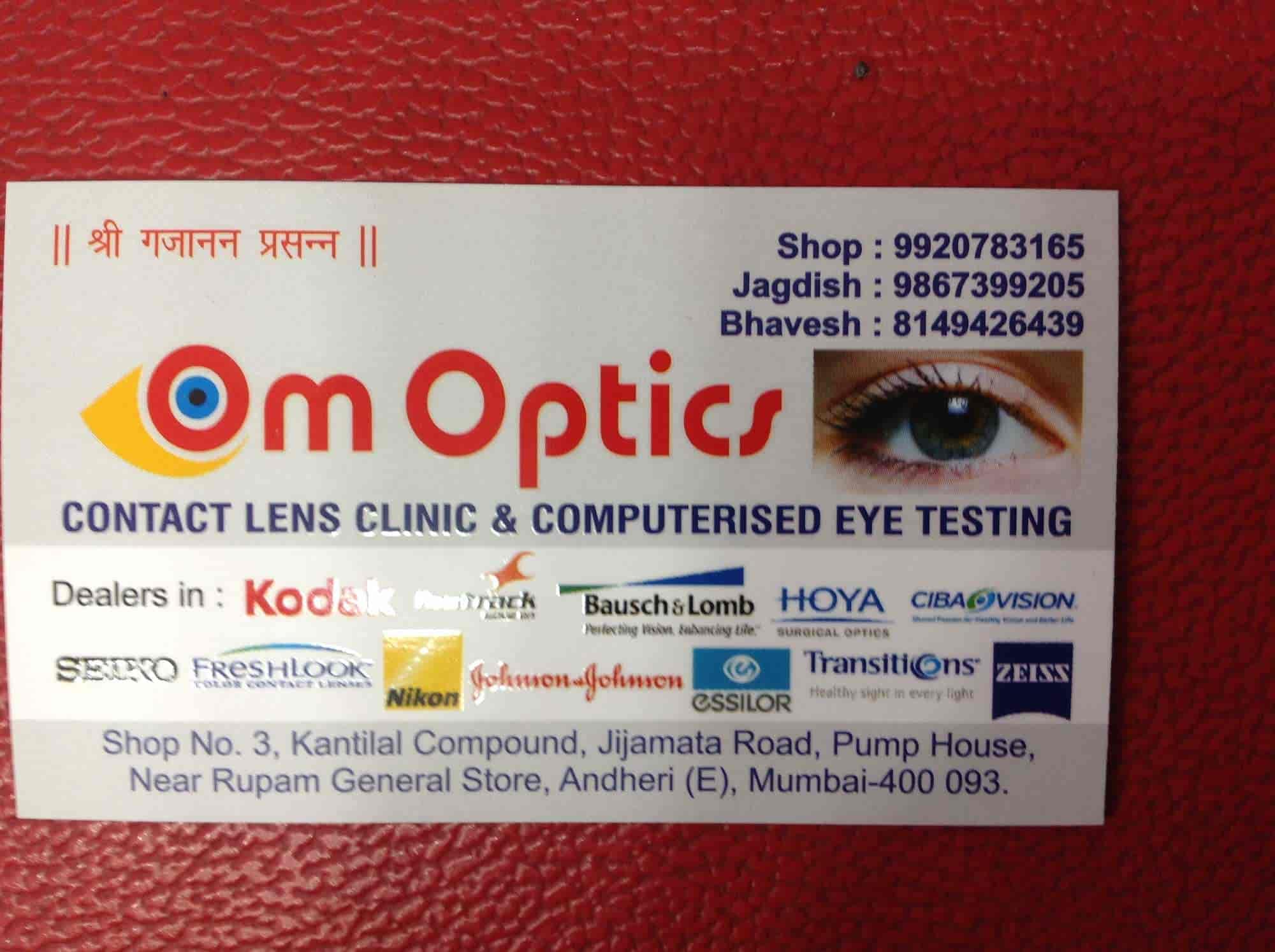 4b4db724d1 Om Optics Contact Lens Clinic