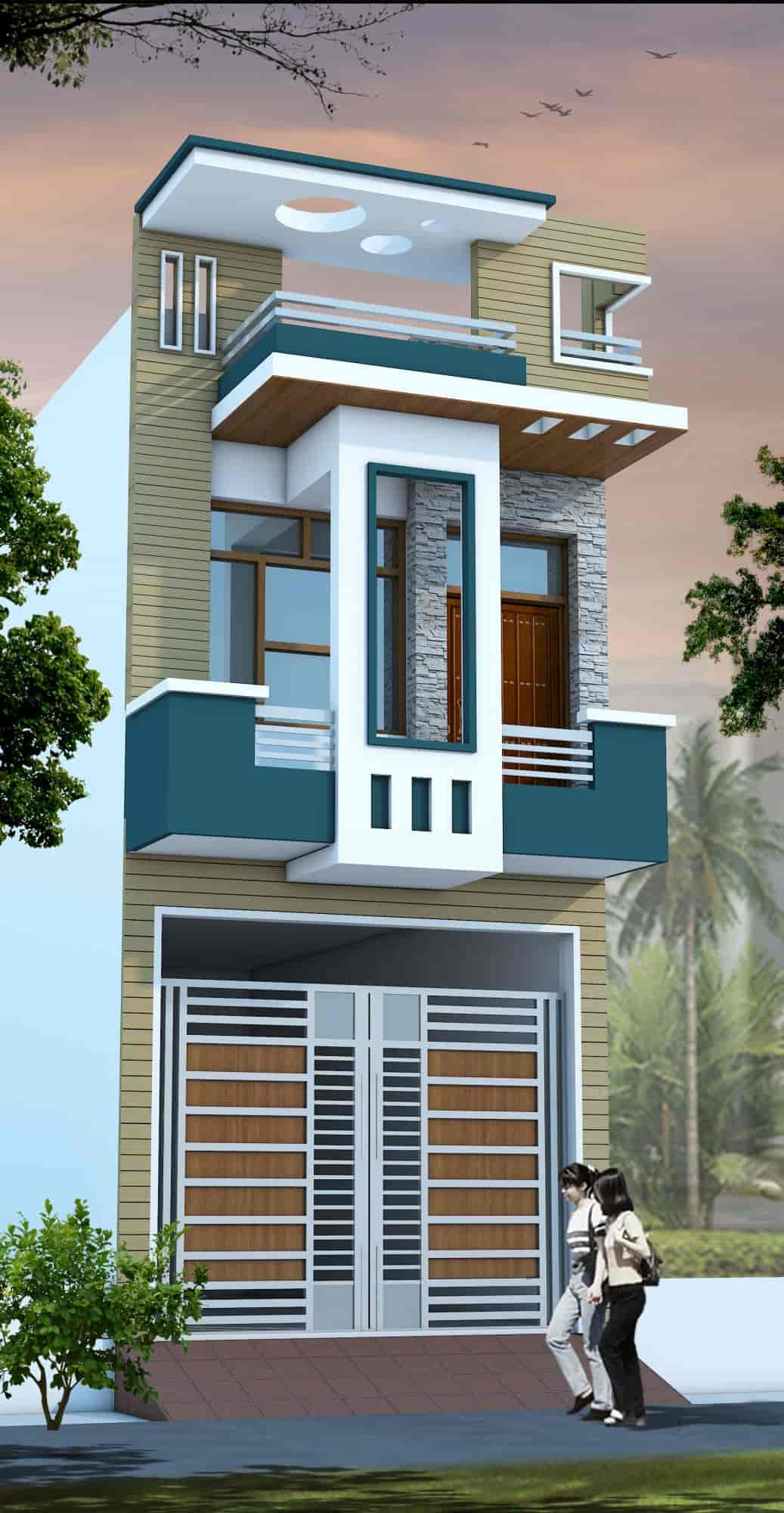 Home Designs Ociates Muzaffar Nagar City Exterior Designers In Muzaffarnagar Justdial