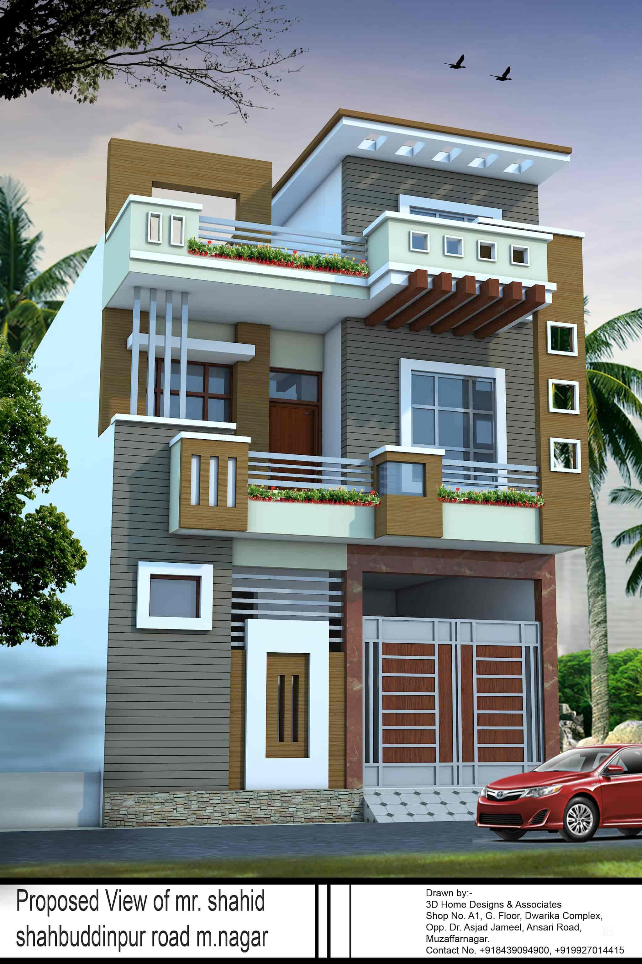 3d Home Designs & Associates, Muzaffar Nagar City - Exterior