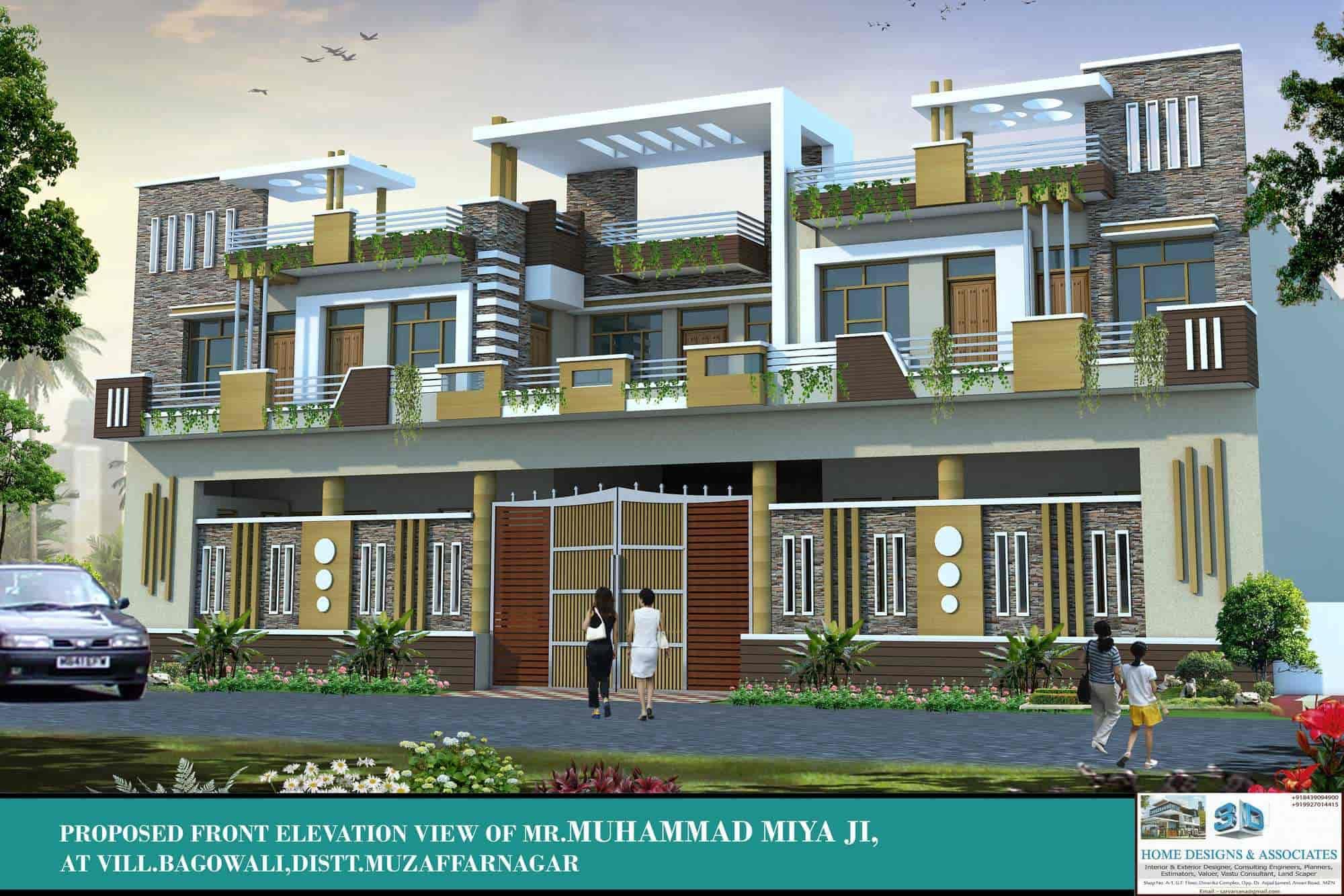 3d Home Designs u0026 Associates, Muzaffar Nagar City - Exterior Designers in  Muzaffarnagar - Justdial