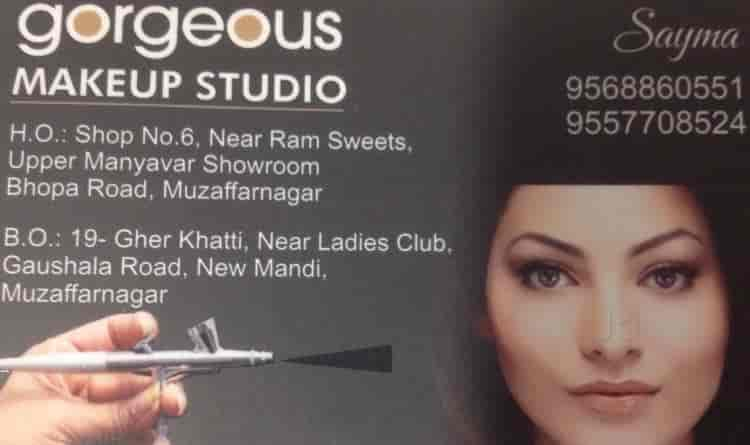 Gorgeous Makeup Studio Muzaffar Nagar