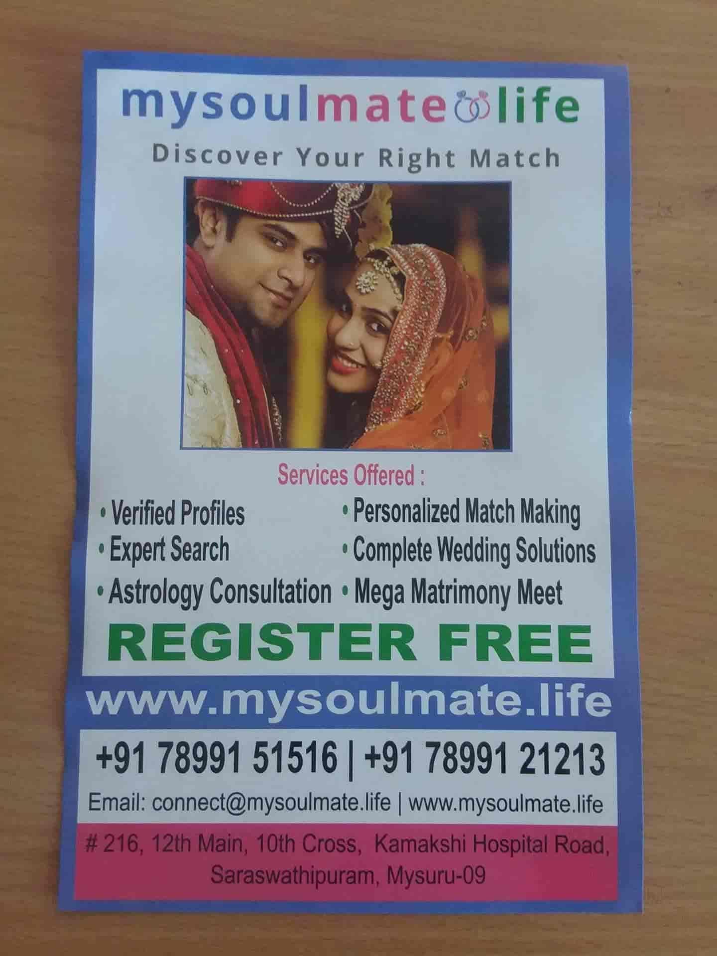 Mysoulmate life, TK Layout - Matrimonial Bureaus in Mysore - Justdial