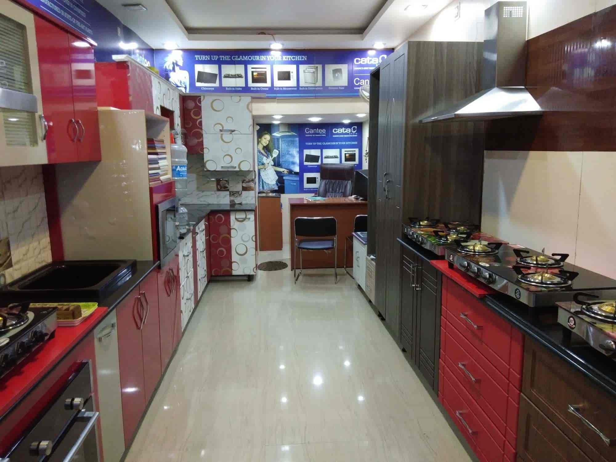 Western Kitchen Interiors Photos Tk Layout Mysore Pictures