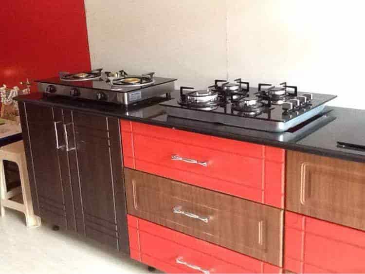 ... Home Interior   Western Kitchen Interiors Photos, TK Layout, Mysore    Interior Designers ...