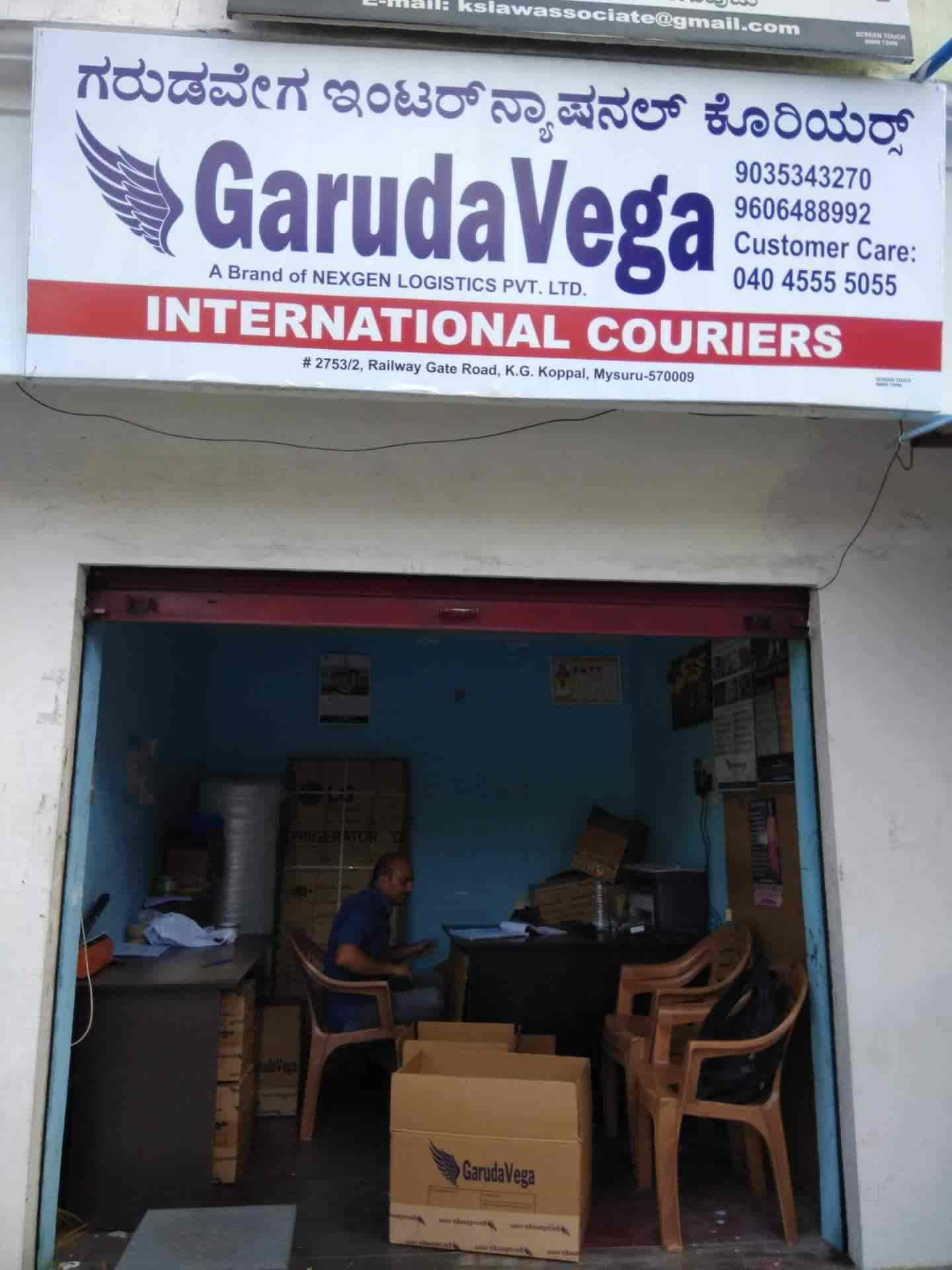 Garuda Vega International Couries, Saraswathipuram - Courier