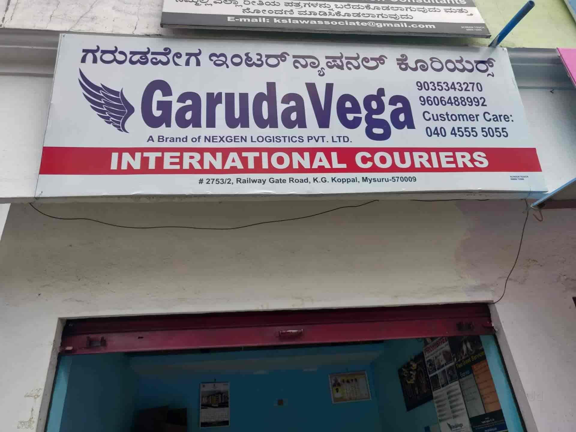 Garuda Vega International Couries, Saraswathipuram - Courier