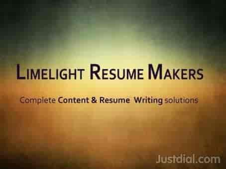 limelight resume makers sharadadevi nagar resume preparation in