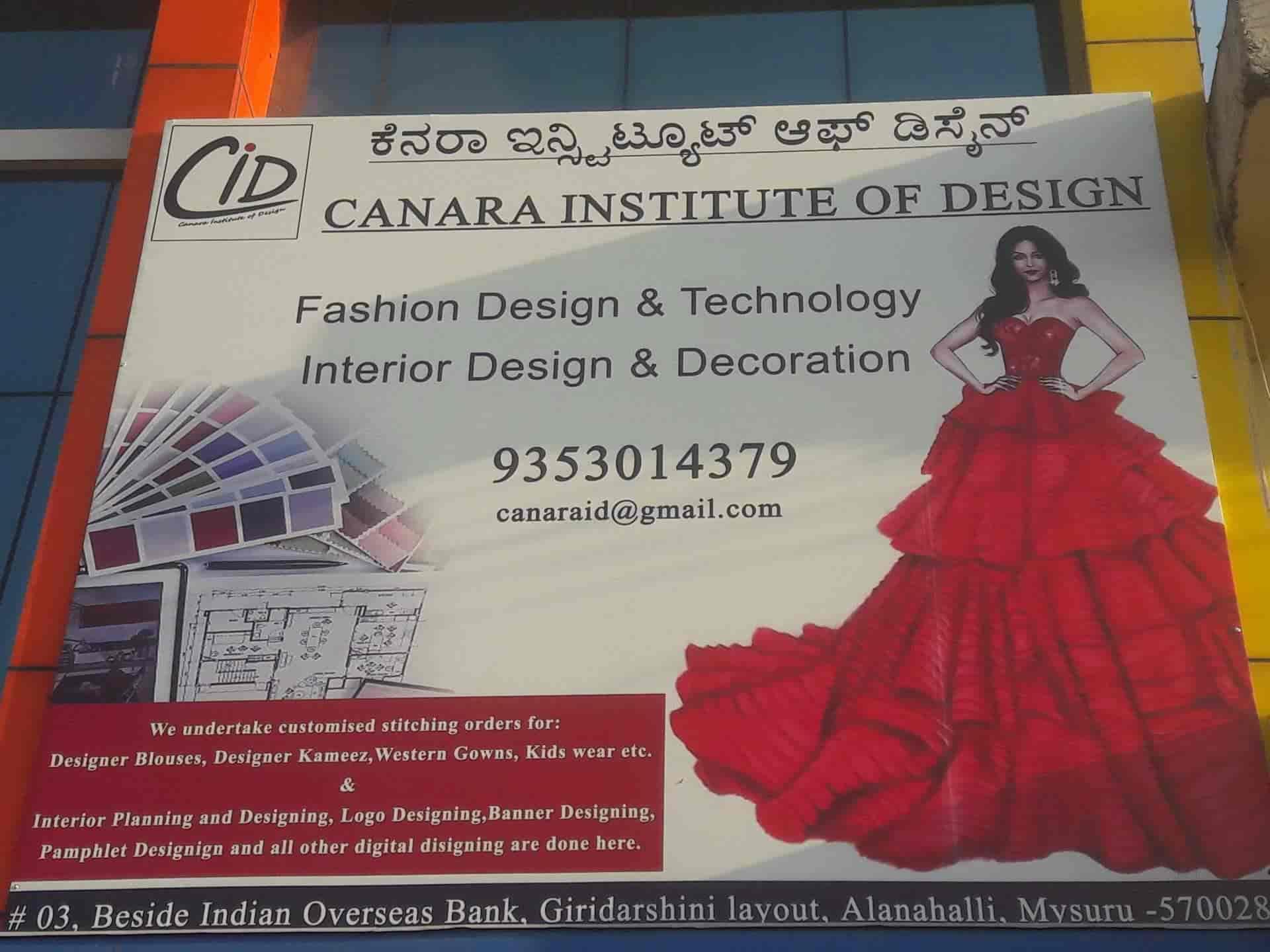 Canara Institute Of Design Alanahalli Computer Training Institutes In Mysore Justdial