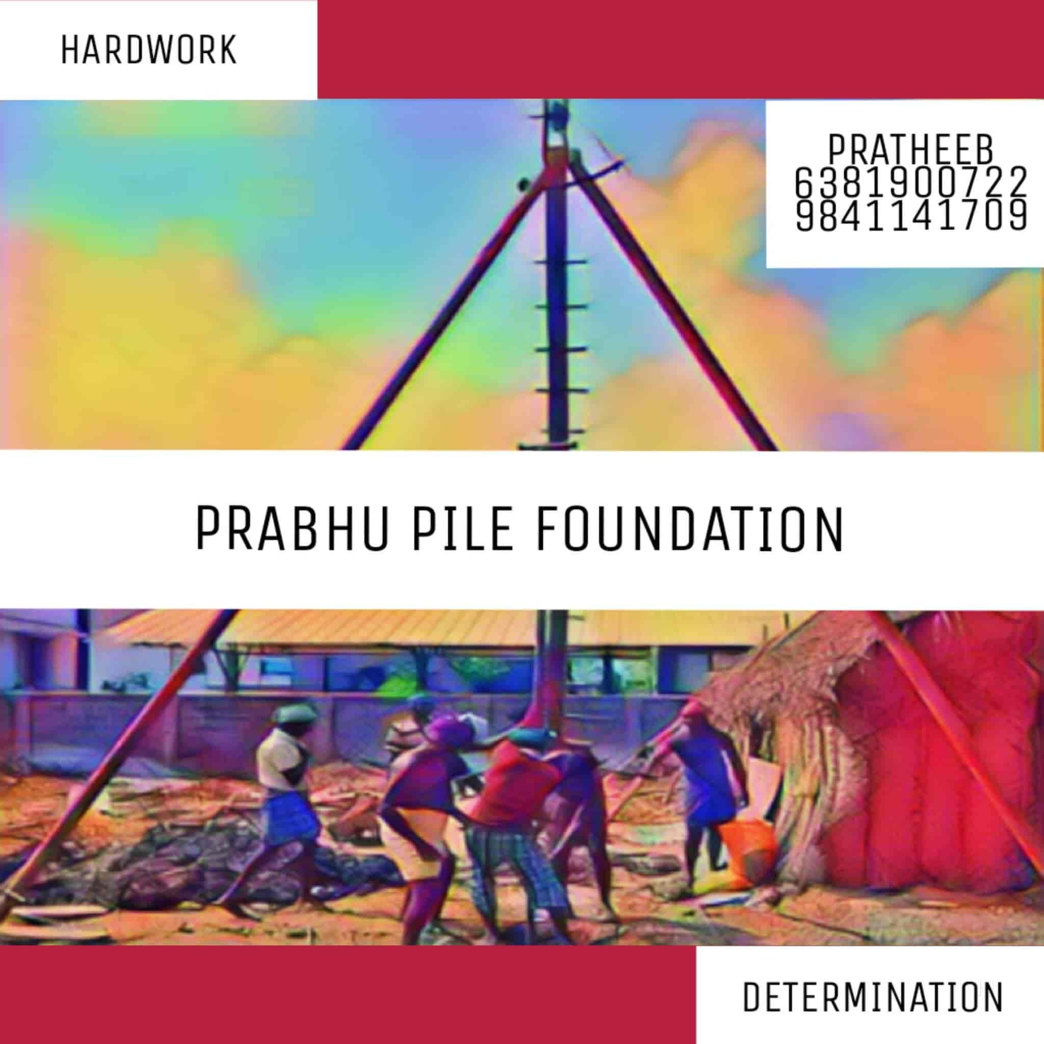 Prabhu Pile Foundation, Poompuhar - Pile Foundations in Nagapattinam
