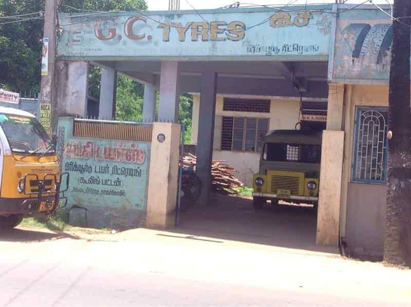 G C Tyres, Chetti Kulam - Tubeless Tyre Repair & Services in
