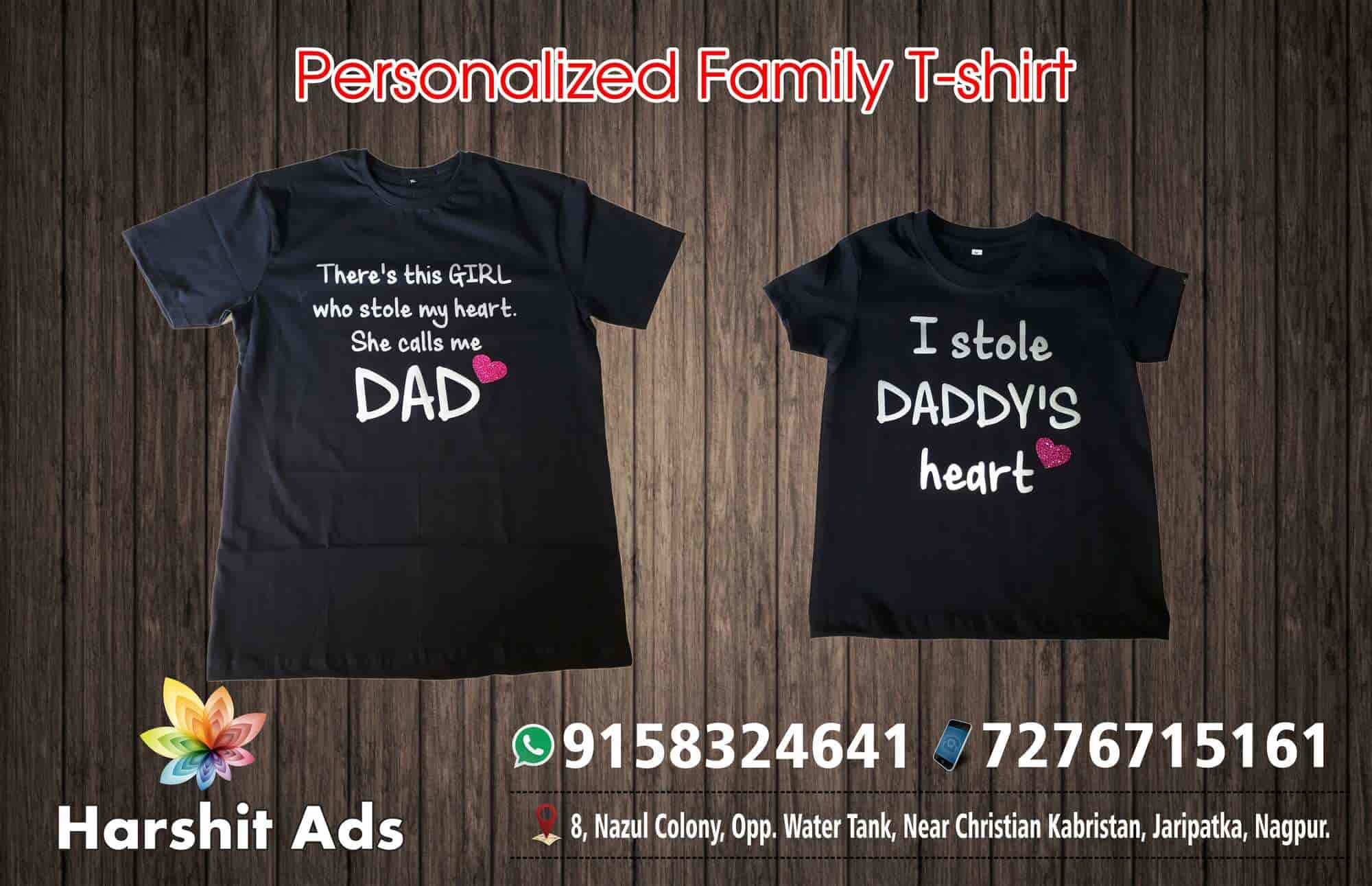 Harshit Ads, Jaripatka - T Shirt Printers in Nagpur - Justdial